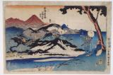 The fifty three stations of the Tokaido(Kuniyoshi)